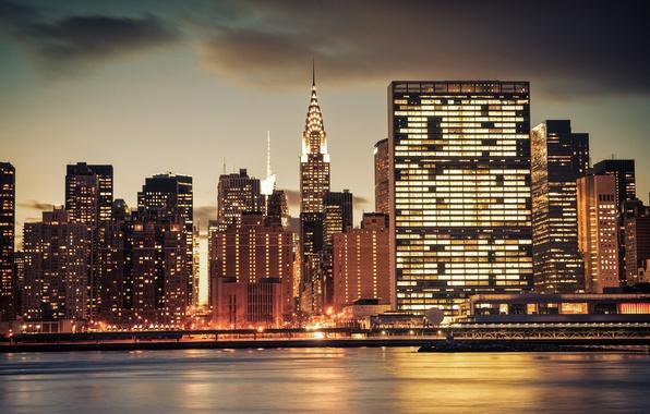 Картинка city, Нью Йорк, New York, Chrysler Building