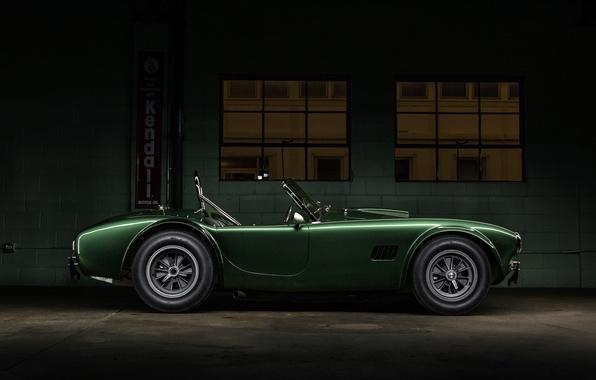 Картинка Shelby, Dragon, Green, Cobra, Side, CSX2472, 1365, Dragonsnake