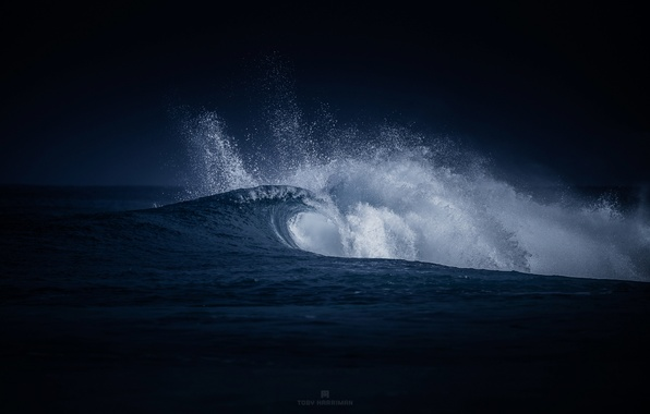 Картинка море, волны, брызги, природа, океан, волна