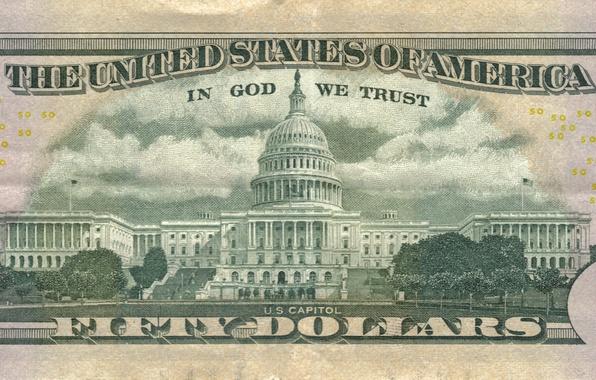 Картинка dollars, The White House, 50