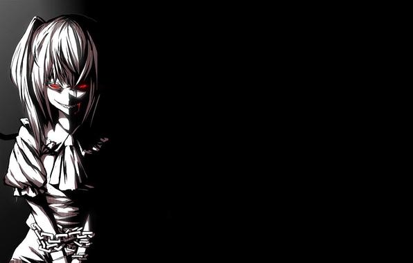 картинки злая девушка аниме