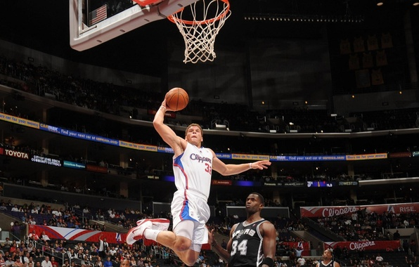 Картинка basketball, nba, dunk, clippers, blake griffin