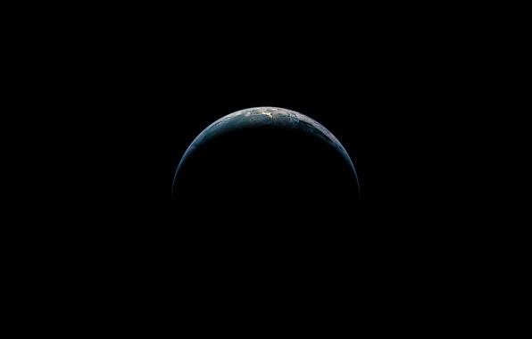 Картинка Apple, iPhone, Планета, Космос, iOS 8