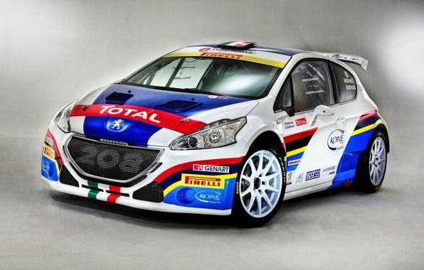 Картинка Peugeot, пежо, 2014, 208, T16