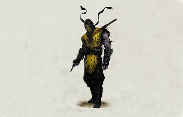 Картинка mortal, kombat, scorpion