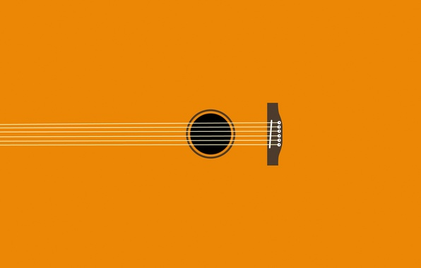 Картинка музыка, гитара, струны, инструмент