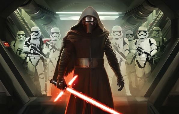 Картинка Star Wars, Dark, Action, Fantasy, Black, Warrior, Laser, The, Wallpaper, Jedi, Army, Force, Year, Weapons, ...