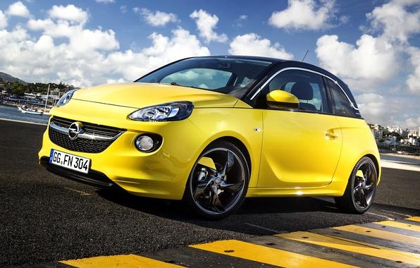 Картинка Opel, опель, Adam, 2013, OPC, Slam, адам, Line Pack