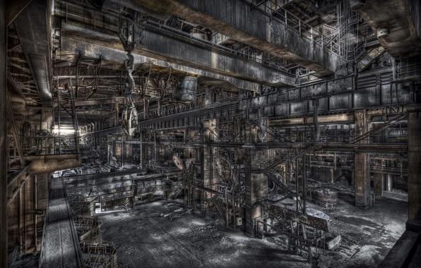 Картинка фон, завод, фабрика