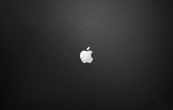Картинка знак, apple, минимализм, текстура, лого, logo, minimalism, texture, sign, бренд, 2560x1600, brend