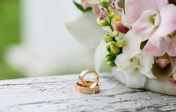 Фон рабочего стола для свадьбы