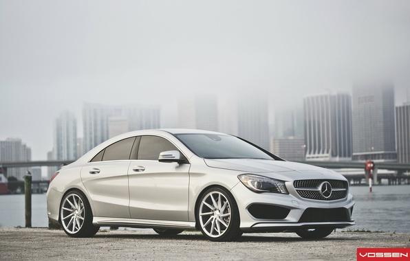 Картинка Mercedes-Benz, Мерседес, CVT, Vossen, CLA
