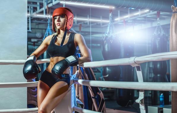 Картинка boxing, pose, protective equipment