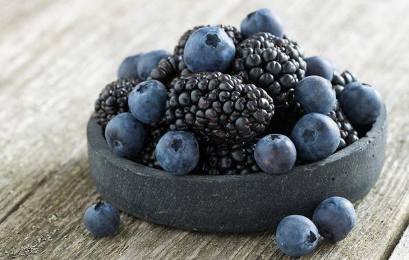 Картинка синий, ягоды, ежевика, голубика