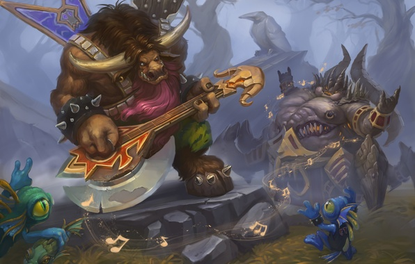 Картинка World of Warcraft, Warcraft, diablo, wow, hots, Heroes of the Storm, Murky, The Lord of …