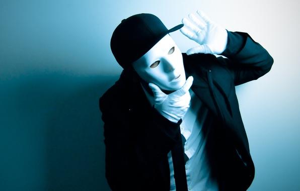 Картинка стиль, фон, движение, танец, маска, костюм, танцор, dance, мим, dancer, даббавокиз, jabbawockeez, mim