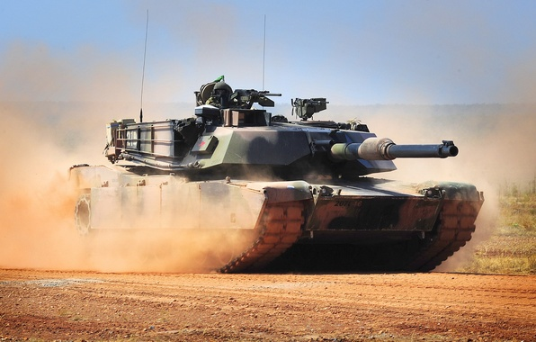 Картинка оружие, танк, Abrams