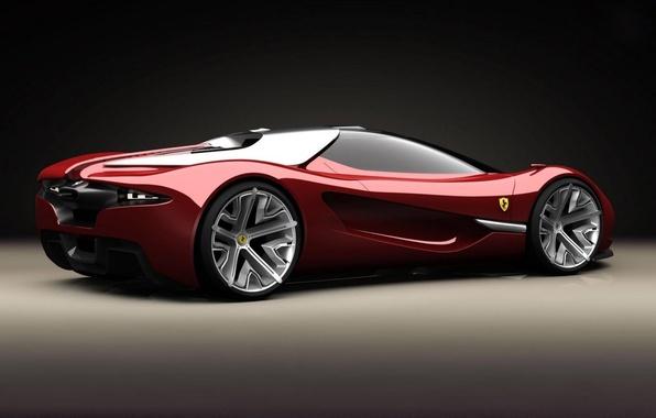 Картинка car, concept, суперкар, ferrari, феррари, supercars, xezri