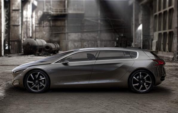 Картинка concept, концепт, Peugeot, пежо, HX1