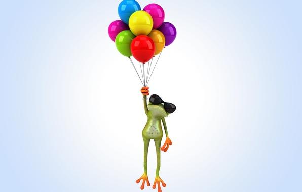 Обои и картинки воздушные шары на рабочий стол