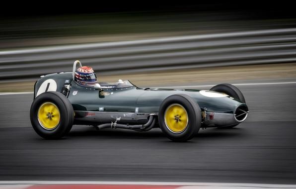 Картинка машина, гонка, Lotus 18
