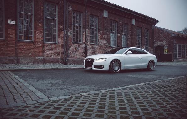 Картинка Audi, white