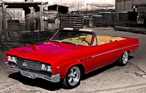 Картинка ретро, Бьюик, классика, 1965, Buick, Skylark
