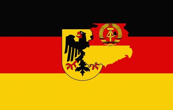 Картинка Германия, Флаг, Орел, Герб, Germany