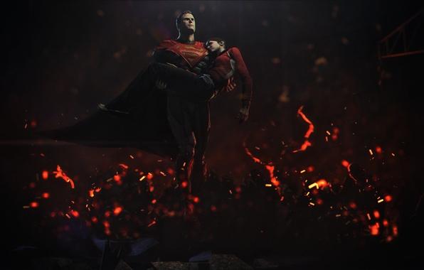 Картинка рендеринг, superman, crossover, Zoey, left 4 dead, DC Comics, Injustice: Gods Among Us, clark kent, …
