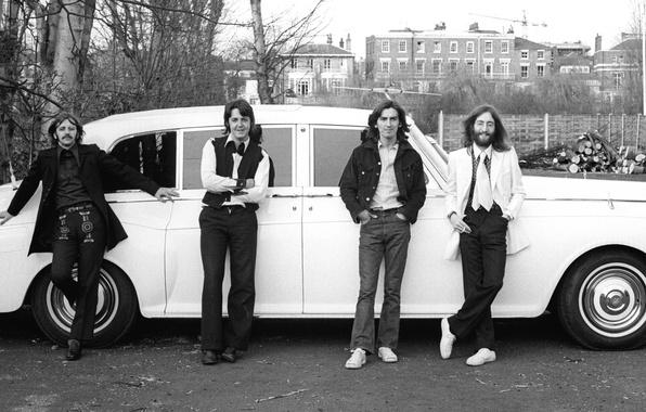 Картинка The Beatles, Битлз, Beatles, Легенда, Джордж Харрисон, Джон Леннон, Пол Маккартни, Ринго Старр, Музыканты