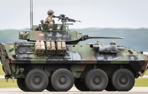 Картинка машина, скорость, армия, боевая, пехоты