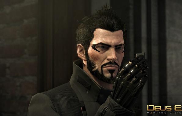 Картинка Adam Jensen, Deus Ex: Mankind Divided, expressive look
