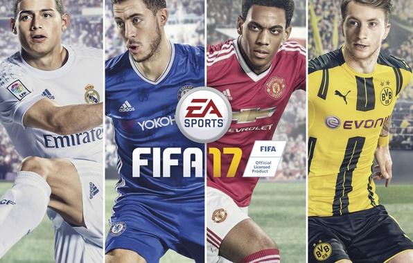Картинка Game, Electronic Arts, EA Sport, FIFA 17