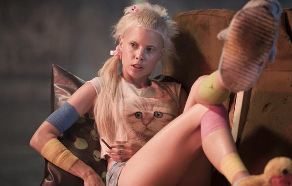 Картинка Girl, Action, Fantasy, Beautiful, White, Wallpaper, Blonde, Movie, Film, Hair, Sci-Fi, Thriller, 2015, Image, CHAPPiE, …