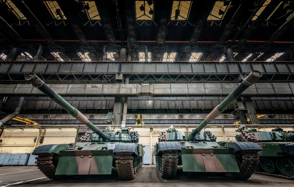 Картинка оружие, завод, танки, pt-91
