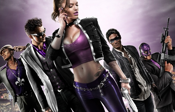 Картинка святые, Johny Gat, Saints Row: The Third, shaundi