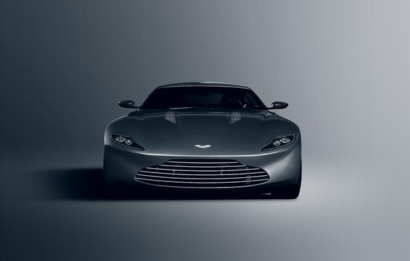 Картинка Concept, Aston Martin, Front, James Bond, Silver, Unique, DB10