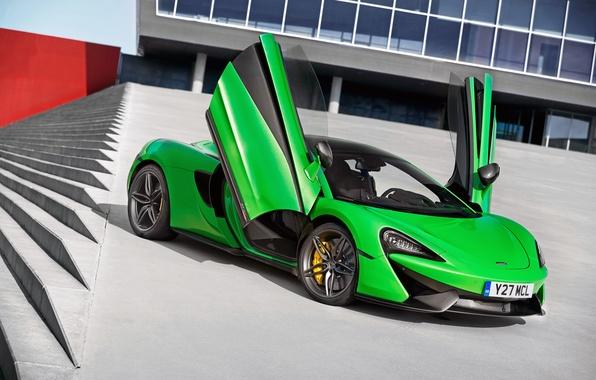 Картинка McLaren, двери, суперкар, макларен, 570S