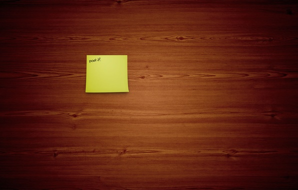 Картинка фон, надпись, обои, доски, минимализм, арт, записка, деревяшки