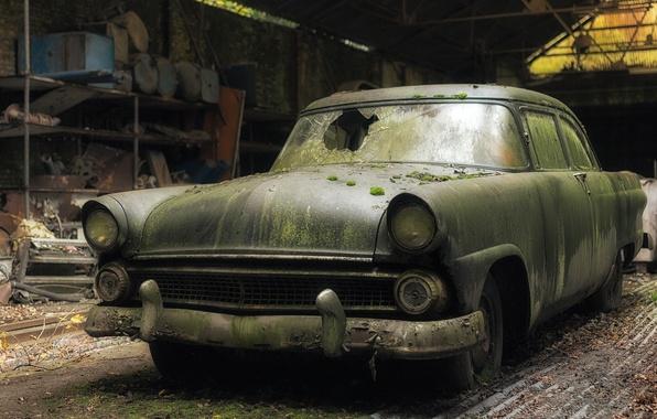 Картинка Ford, abandoned, Fairlane
