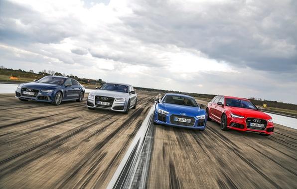 Картинка Audi, ауди, RS 7, RS 6