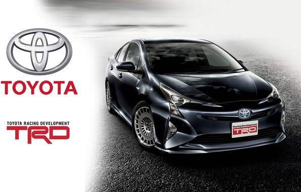 Фото обои приус, TRD, Toyota, тойота, Prius