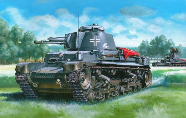 Картинка Германия, немцы, Танки, вермахт, pz kpfw 35