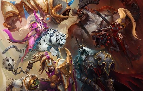 Demon battlefield girl undead - Heroes of the storm phone wallpaper ...