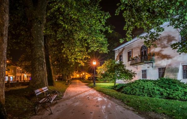 Картинка Night, Croatia, Samobor