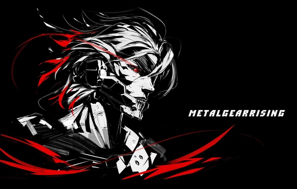 Картинка art, Raiden, Metal Gear Rising, Revengeance, Katana, Jack the Ripper, Cyborg Ninja, fan