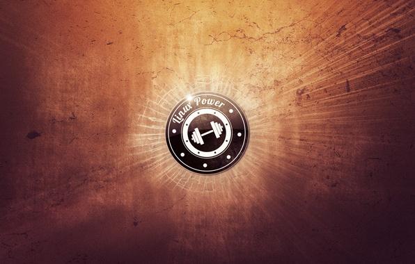 Картинка логотип, лого, linux, logo, power