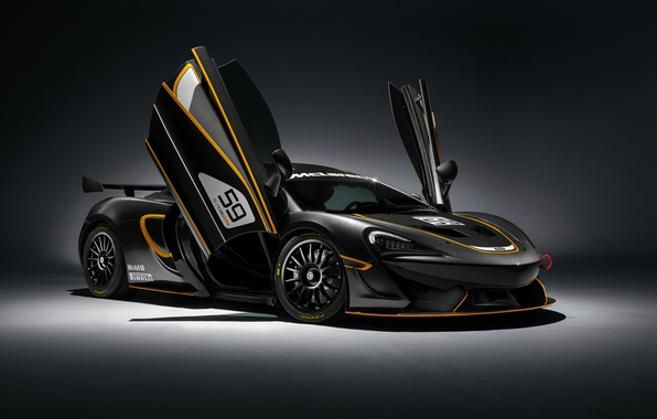 Картинка фон, McLaren, суперкар, макларен, GT4, 570S
