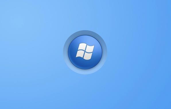 Картинка компьютер, текстура, логотип, эмблема, windows, операционная система