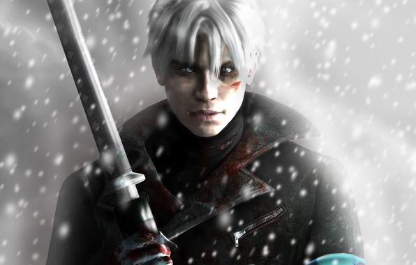Картинка Capcom, Vergil, Ninja Theory, DmC: Devil May Cry, Дьявол может плакать